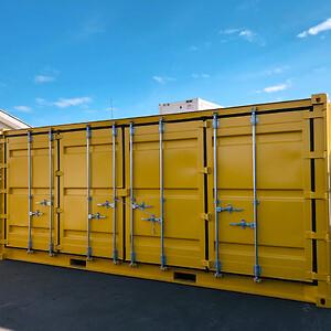 nullStrandboxen: Nye udstillingscontainere til Brøndby Kommune