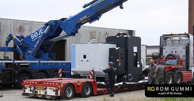 RG Rom gummi får ny CNC-fræser til produktionen i lemvig
