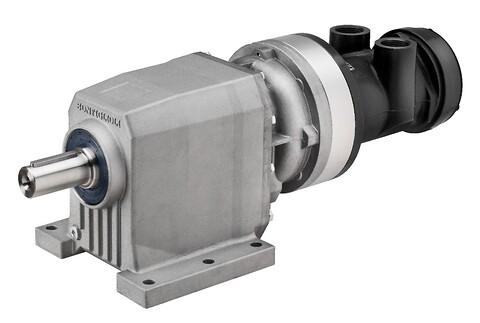 Trykluftmotor - LZL med skrueskåret tandhjul