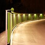 Belysning; räckesbelysning; Saferoad