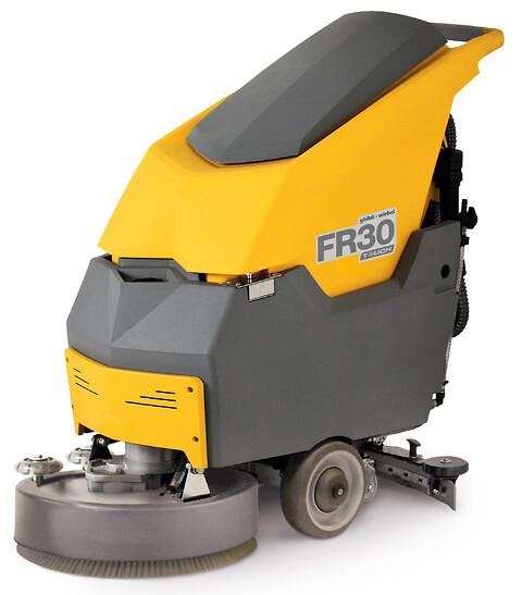 Efterårsvejret kan ses på dine gulve - Freccia 30 SM45 BC/T gulvvaskemaskine klarer sagen - Freccia 30 SM45 gulvvaskemaskine
