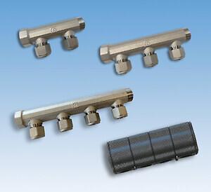Med brugsvandsfordelerrørene CC50 (centerafstand 50 mm) er det nemt at komme til med værktøjet og isolere rørene, så du slipper for et unødigt energitab.