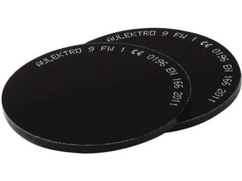 Svejseglas 50 mm din. 6