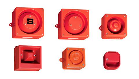Akustisk alarm for industribruk fra R. Stahl Tranberg