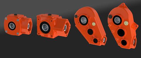 Reduksjonsgear for hydraulikkmotorer levert av Hydramek AS - Reduksjonsgear, reduksjonsgir, gearbox for hydraulisk motor