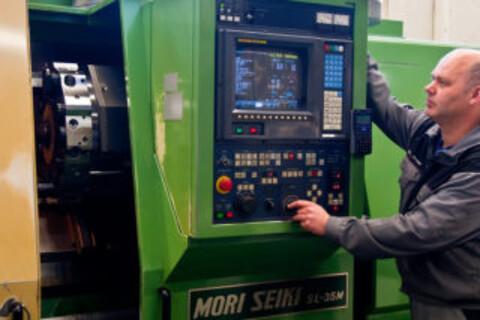 Ameka tilbyr variert maskinpark