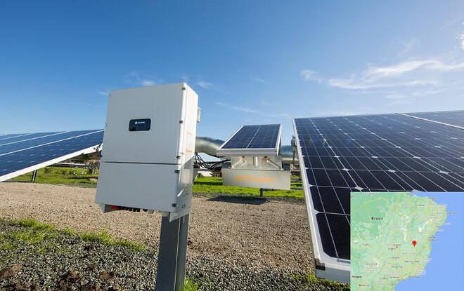 Janauba Solar Complex i Brasilien