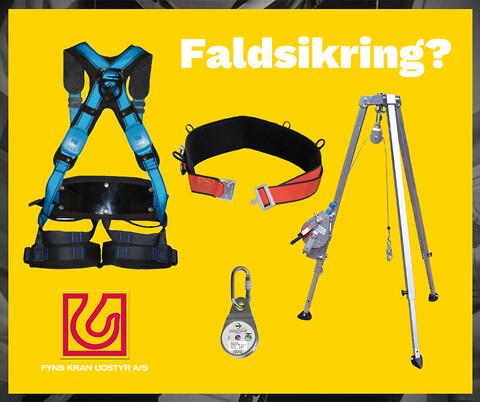 Faldsikring fra Fyns Kran Udstyr A/S - faldsikring-fyns-kran-udstyr