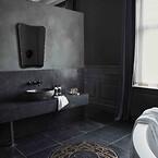 For Villa Copenhagen blev AXOR Signature relevant i de otte suiter, der er designet af smykkefirmaet Shamballa Jewels. Her ønskede designerne bag - Olga Krukovskaya, Mads Kornerup og Mikkel Kornerup – at produkterne på badeværelset lige som resten af suiten bar smykkefirmaets udtryk.