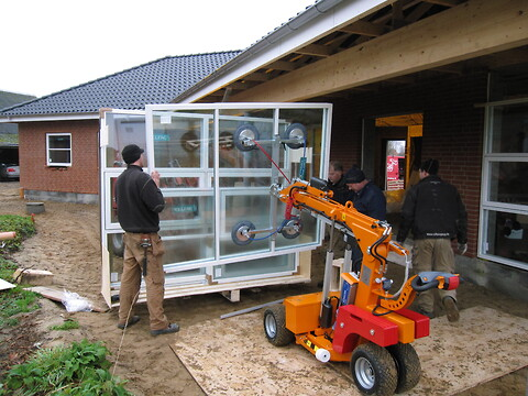 Rådgivning om vindues-montage og brug af vacuumlifte