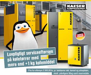 Får din virksomhed udført lovpligtigt eftersyn af køletørrer