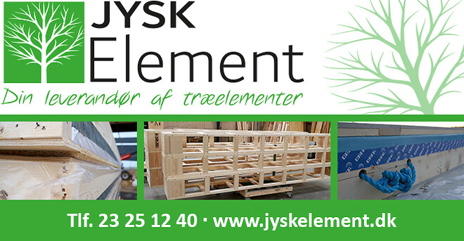Træelementer til byggebranchen. Tag- og facadeelementer.