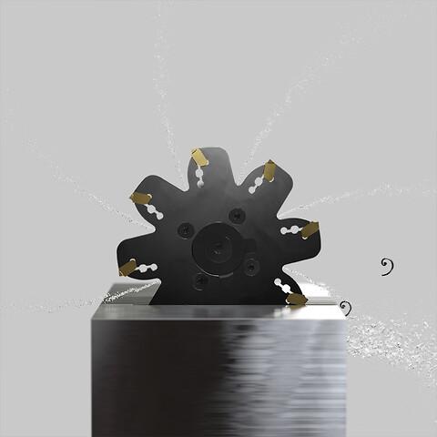 Skjærsort for fresing i stål er utvidet til å dekke flere av Sandvik Coromant's fresekonsepter