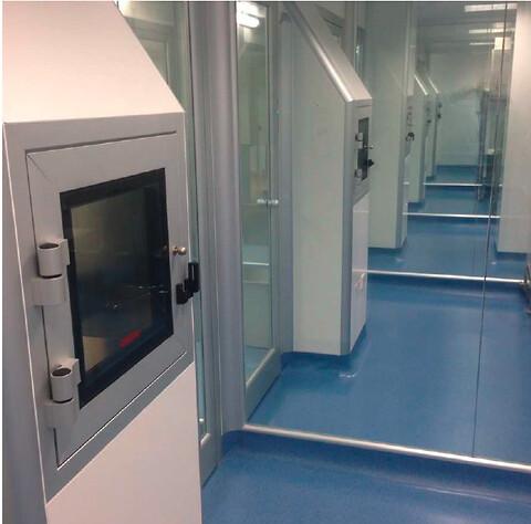 NICOMAC indretter renrum på HOSPITAL i London