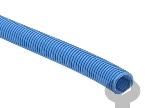 Blå eva slange ø 38,1 mm