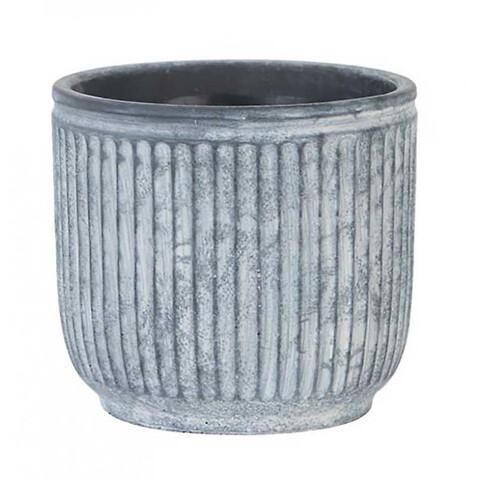 Krukke i cement, Ø17cm