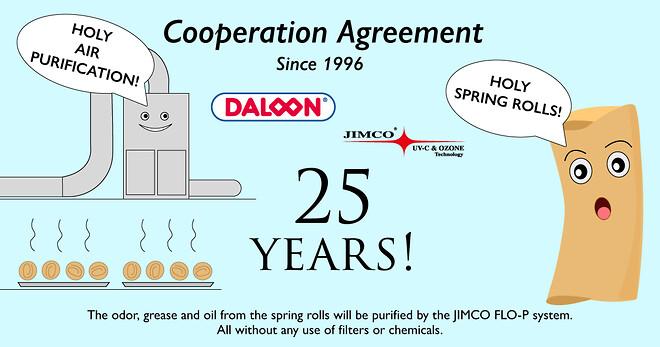 25 års jubilæum med Daloon