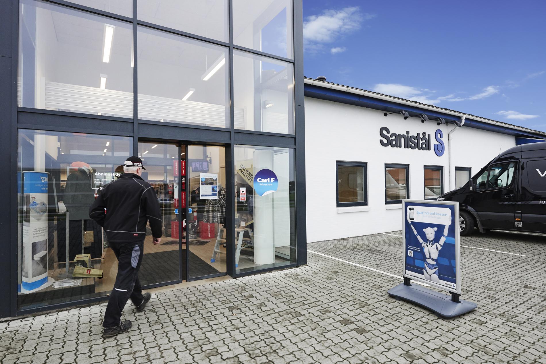 Sanistål åbner ny butik - Metal Supply DK
