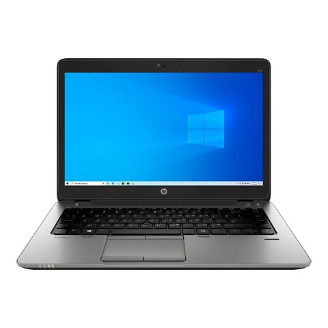 "14"" HP Elitebook 840 G1 - Intel i5 4200U 1,6GHz 128GB SSD 8GB Win10 Pro - Grade A - bærbar computer"