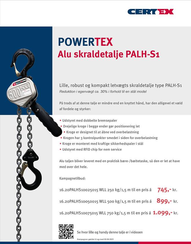 Kampagne på POWERTEX alu taljer