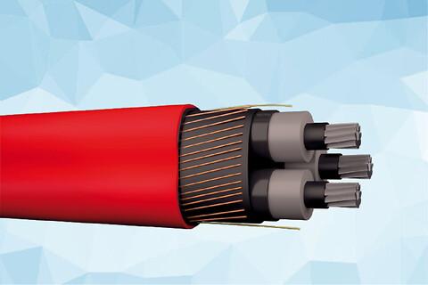 PEX-AL-CT 12 kV aluminium elforsyningskabel