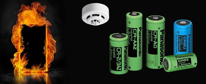 Batterier til brand og sikkerhed