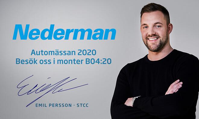 Emil Persson och Nederman SSTC 2020