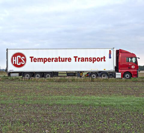 HCS tilbyder temperaturreguleret transport - alt inden for frost-, køle- og varmetransporter - HCS tilbyder alle former for temperaturreguleret transport