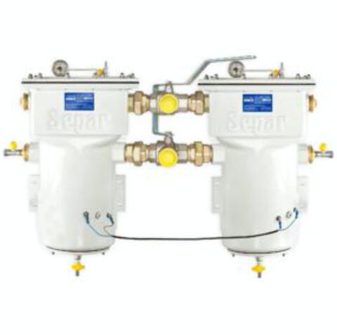 Nofitek: SWK2000 serien fra Separ -  Markedsleder på diesel forfilter med vannutskiller