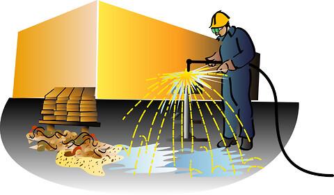 Varmt arbejde - brandforanstaltninger ved gnistproducerende værktøj (AMU)