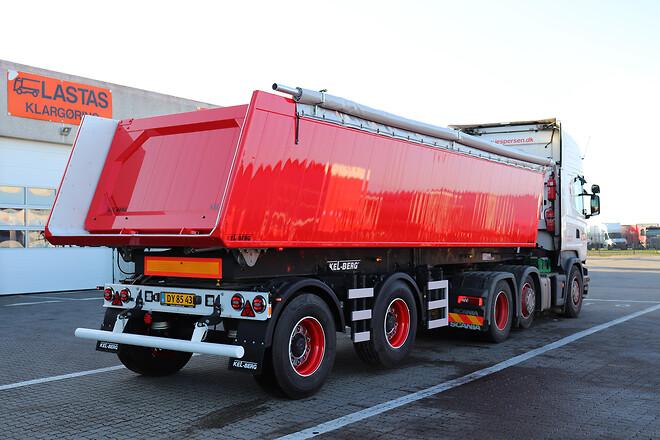 Kel-Berg 2 akslet letvægt tiptrailer 23,5 m3 fra Lastas