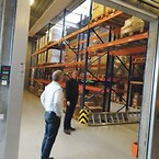 Det separate Li-Ion lager, der siden 2014 har udgjort en brandisoleret enhed i de 3000 kvaddratmeter store lokaler