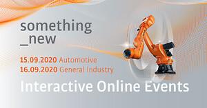 KUKA Nordics virtuelle robotmesse. Bilindustrien generell industri