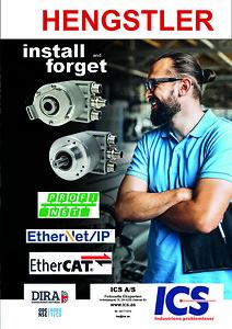 Hengstler roterende encodere profinet ethernet ethercat industri 4.0