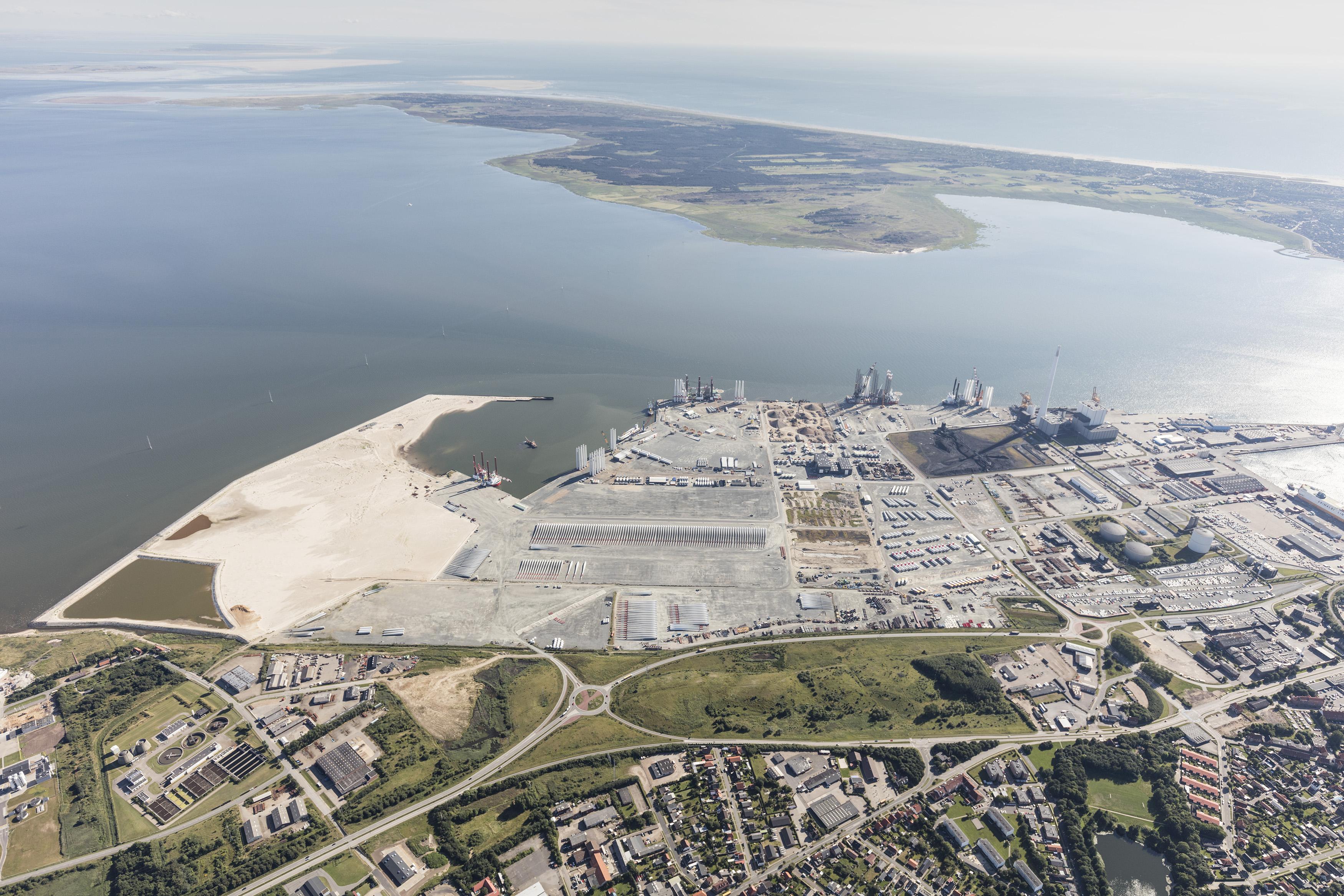 Kort Port Of Esbjerg