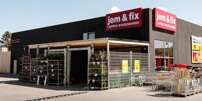 RTE A/S har den 1. maj 2020 færdiggjort byggeriet af den nye Jem & Fix butik i Sæby (arkivfoto)