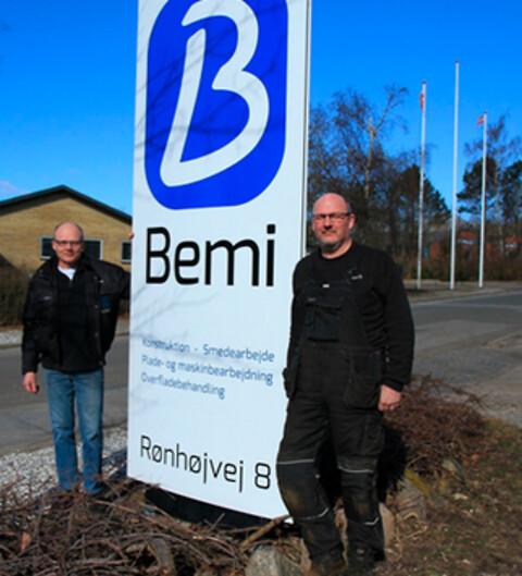 Bemi Smede & Maskinfabrik leverer bygningsstål af høj kvalitet.