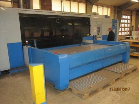 Brugt Finnpower laserskærer type L6  4 kilowatt  1500x3000  sælges fra Stålspecialisten