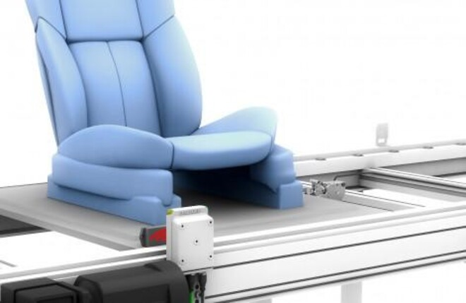 Bil, tillverkning, säte, automation, Balluff