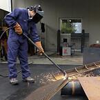 Duramax Hyamp lang skærebrænder med 45 grader bøjning.