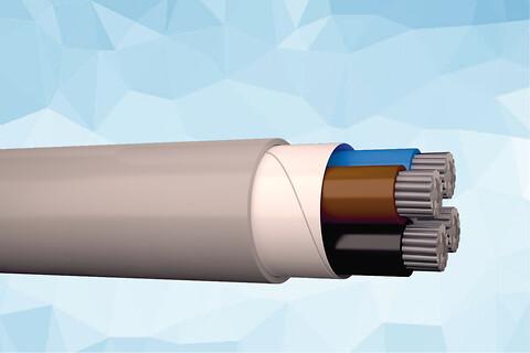 HIK-AL-R 1 kV halogenfri installationskabel