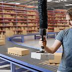 Lyft av emballage och kartonger - effektiv materialhantering - Movomech Easyhand Pro Rapid