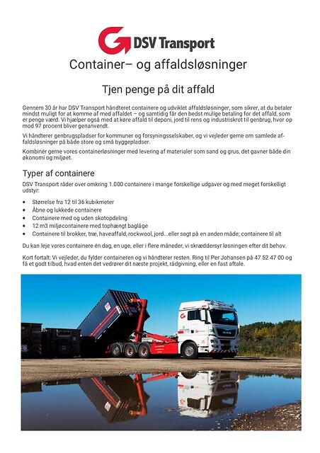 Husbyggere...se her ! container- og affaldsløsninger