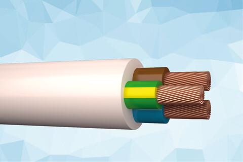 H03VV-F 300/500 V - PVC isolation 70°C