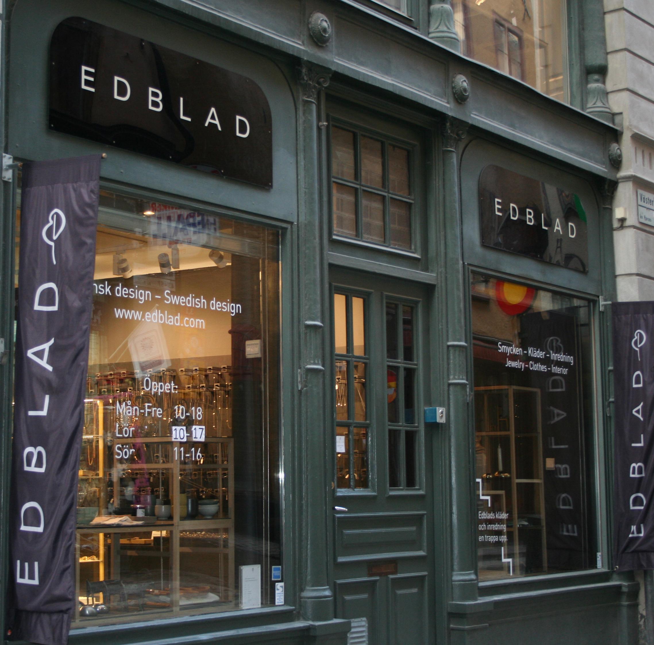 edblad butik stockholm