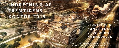 Konference om indretning af fremtidens kontor 2019