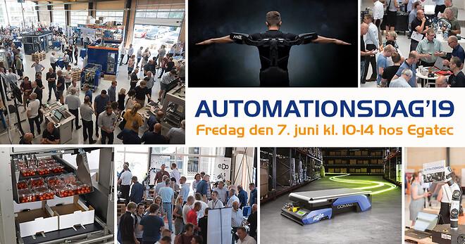 Automationsdag19 hos Egatec