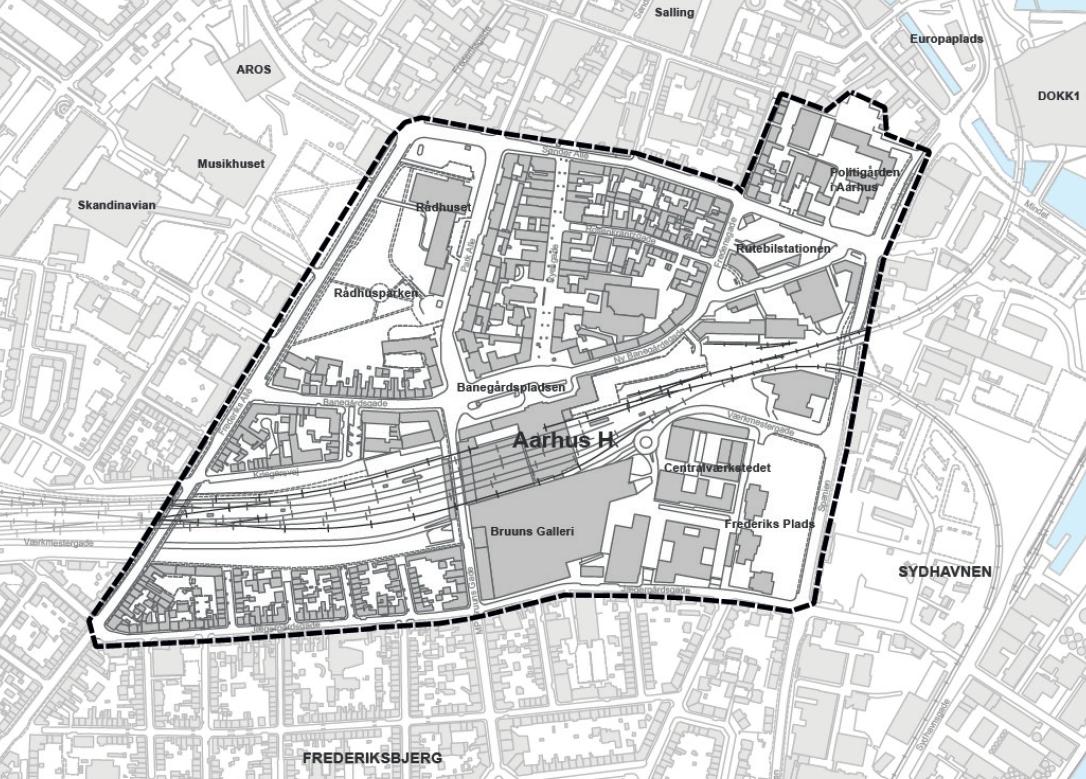 Aarhus Flytter Rutebilstationen Og Laver Om På Banegårdspladsen