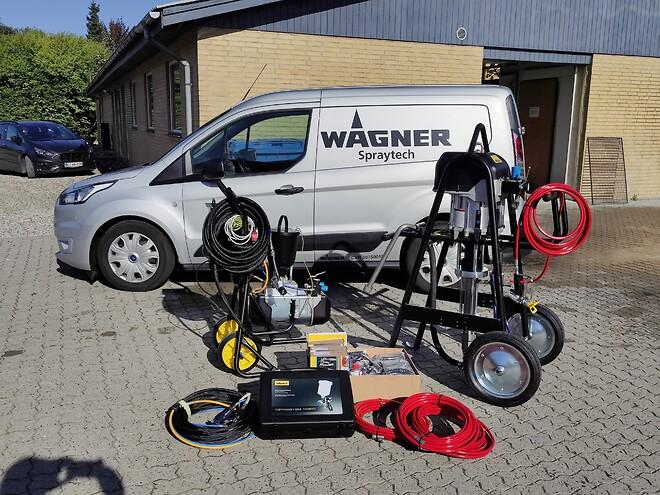 Wagner,Wagner spraytech, wagner industri,protec 95-150,cobra,cobra 40-10,spraypack,airless pumpe,gm 1030