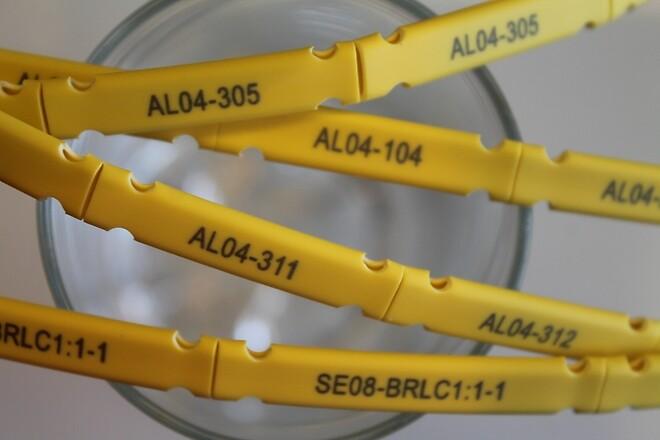 Halogenfri kabelmärkning knutwall